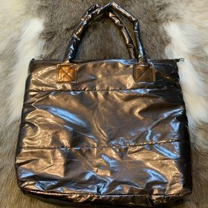 Metalic purse